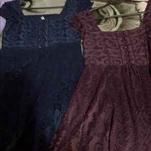 Two dresses from aero